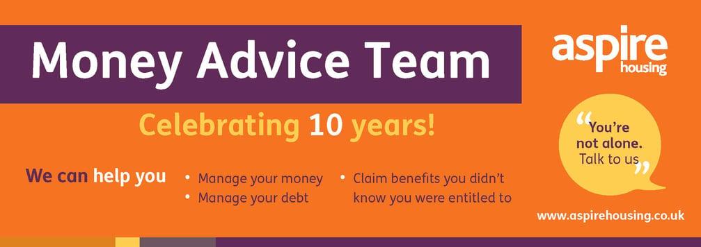 Money Advice - celebrating 10 years